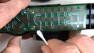 How To Repair Remote Control Buttons That Don't Work
