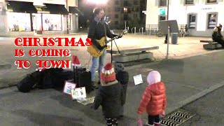 Christmas Is Coming To Town - Federico Borluzzi live in Chamonix-Mont-Blanc (original song)