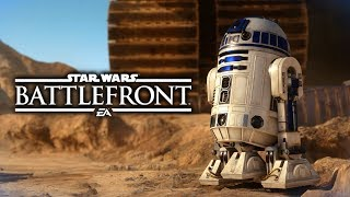 Star Wars Battlefront - Funny Moments #18 The Last Hero Pickup