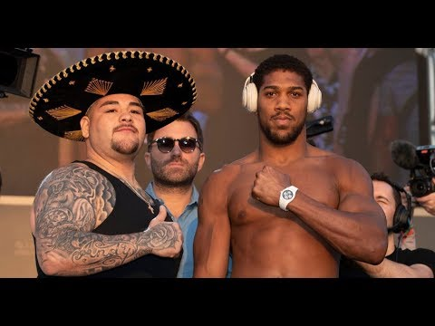 Download ANTHONY JOSHUA WEIGHS IN 3 STONE LIGHTER THAN ANDY RUIZ! ANDY RUIZ OVER 20 STONE!