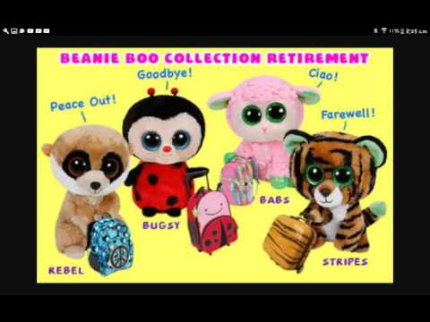A memory of retired beanie boos - YouTube 33d48a0cbef