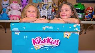 HUGE Kindi Kids Surprise Toy Box from Moose Toys Fun KindiKids Dolls for Girls Kinder Playtime
