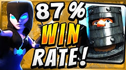87% WIN RATE! STRONGEST GIANT GRAVEYARD DECK DOMINATES! — Clash Royale
