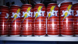 Jolt Cola in my RetroLan garage