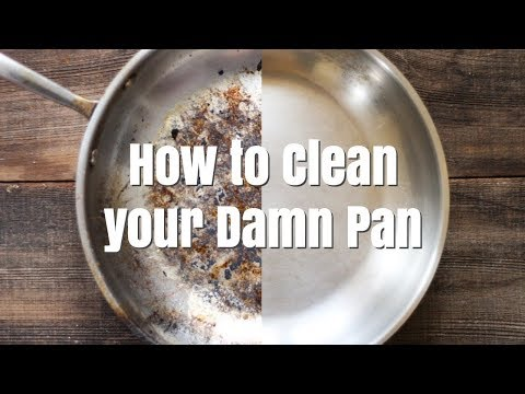 The Easiest Way to Clean Your Pots and Pans - The Infomercial