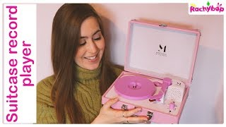 "Pink 7"" Vinyl record player REVIEW"