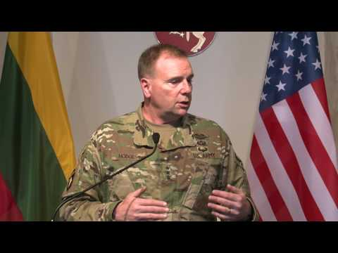 EBU Lithuania US General calls on the Russians to lower anxiety through transparency