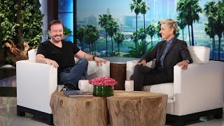 Ricky Gervais Talks Twitter and 'The Office'