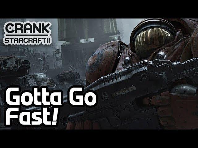 Gotta Go Fast! SCV/Marine Pull - StarCraft 2