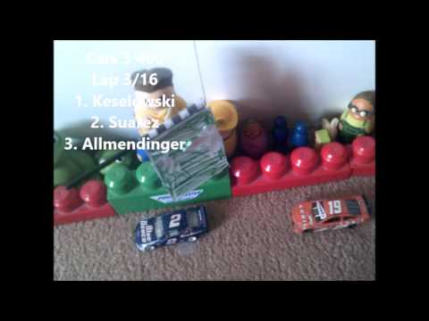 2017 Progressive Cup Series Race 8 Cars 3 400 Los Angeles Stop Motion Racing