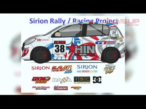 Daihatsu Sirion Race Rally Modification Indonesia Holeshot