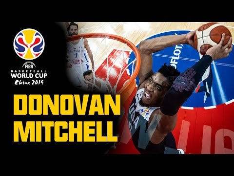 Donovan Mitchell - ALL his BUCKETS & ASSISTS from the FIBA Basketball World Cup 2019