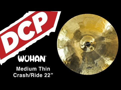 Wuhan Medium Thin Crash/Ride Cymbal 22""