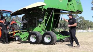 Krone Comprima X-treme V150 XC Walk through