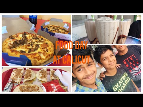 | Food day at Calicut | Cheap Eats | With Friends | Dominos | KFC | Dessi cuppa |