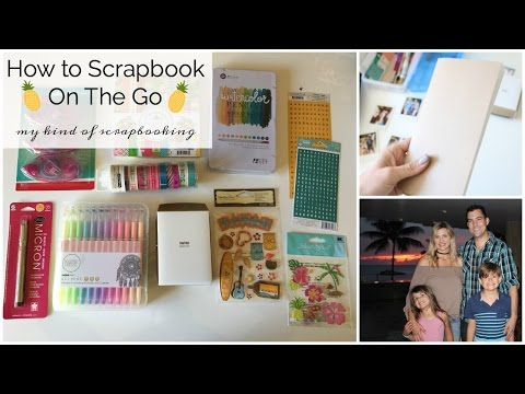 How to Travel Scrapbook - Family Hawaii Trip