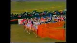 Zola Budd - World Cross Country Champs, Neuchatel, 1986