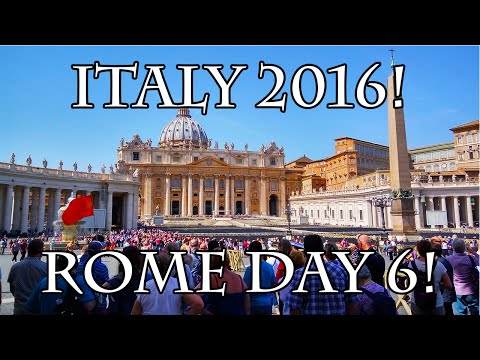 VATICAN CITY & THE END OF MY GREATEST TRIP! - ITALY 2016