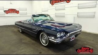 DustyOldCars.com 1965 Ford Thunderbird Convertible SN1882
