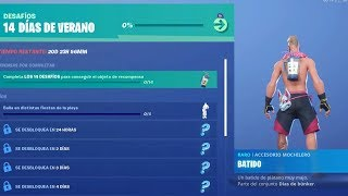 NEW CHALLENGES EVENT *14 DAYS OF SUMMER* in FORTNITE! (FREE GIFTS) -RoEssYT