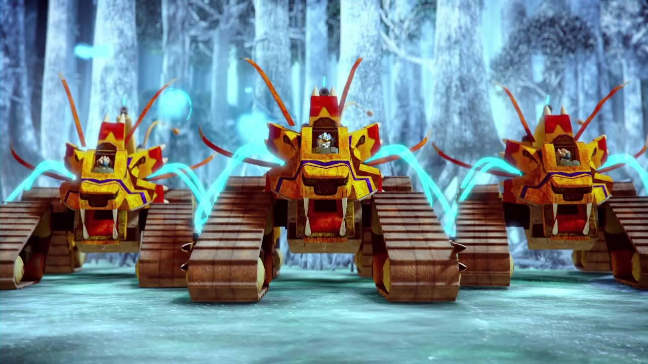 LEGO Chima film wprowadzający do nowej historii ʺOgień kontra Lódʺ - YouTube
