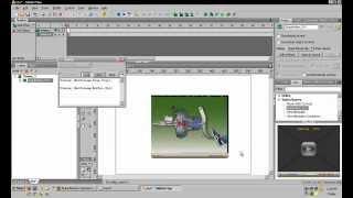 Tutorial Swishmax membuka file Video FLV menggunakan component dalam Swishmax
