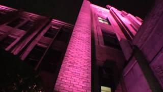 2010年10月1日。 10月1日から始まった「乳がん撲滅月間」を応援するため...