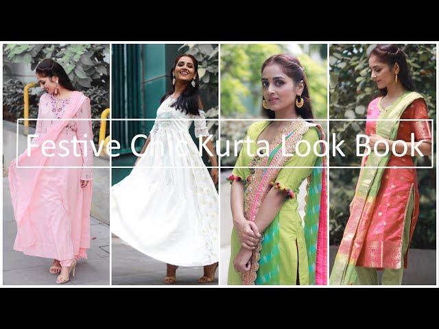 Festive Chic Kurta Look Book | Prity Singh