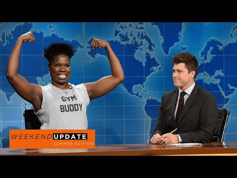 Weekend Update: Leslie Jones on Summer Beach Bodies - SNL