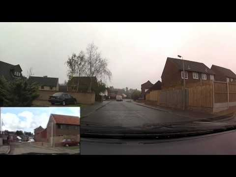 Colchester Drive 2012 (Part 5 Highwoods and Ipswich Road) (1986 footage inset)