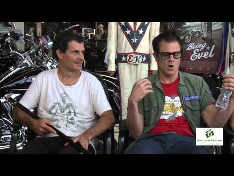 Johnny Knoxville, Daniel Junge & Mat Hoffman talk Being Evel
