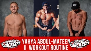 Yahya Abdul-Mateen II Workout Routine Guide