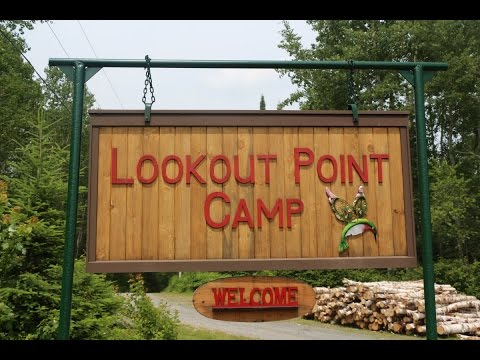 Lookout Point Camp trailer