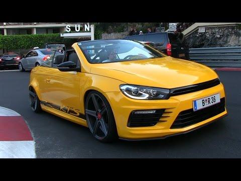 1 of 1 Custom Built Volkswagen Eos R36 w/ Bull-X exhaust in Monaco | CRAZY SOUND!