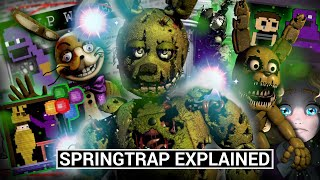 FNAF Animatronics Explained - SPRINGTRAP (Five Nights at Freddy's Facts)
