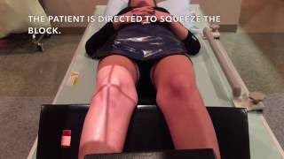 Patient Directed Valgus Stress X-ray Positioning