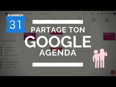 Partager Calendrier Gmail.Comment Partager Son Google Agenda Blogtrepreneure