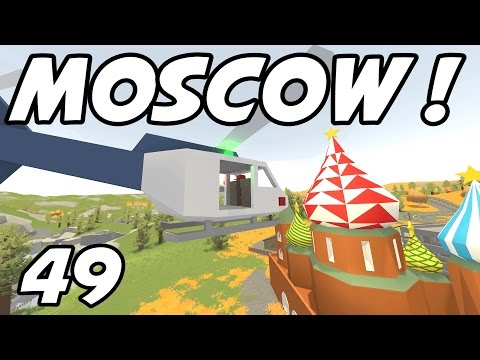 """UNTURNED - E49 """"Touring Moscow!"""" (Russia Map Role-Play)"""