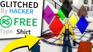 Roblox's GLITCHED SHIRT puts THIS in game *REAL*