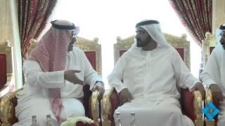محمد بن راشد يستقبل رئيس اتحاد اللجان الأولمبية العربية