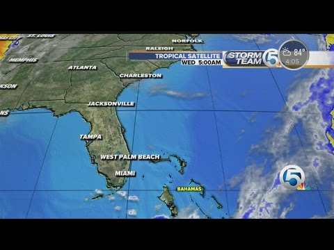 Update on weather system near Bahamas