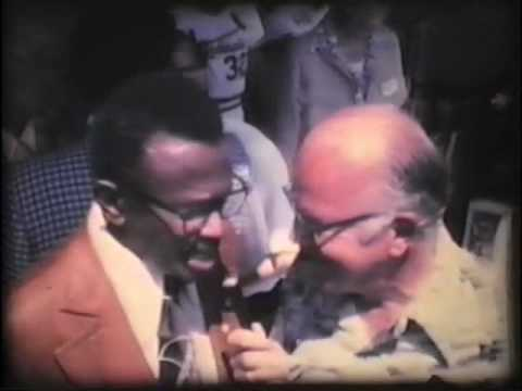 Leo Cloutier interviews Satchel Paige & Stan Musial