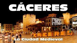 CACERES CIUDAD MEDIEVAL - ESPANA