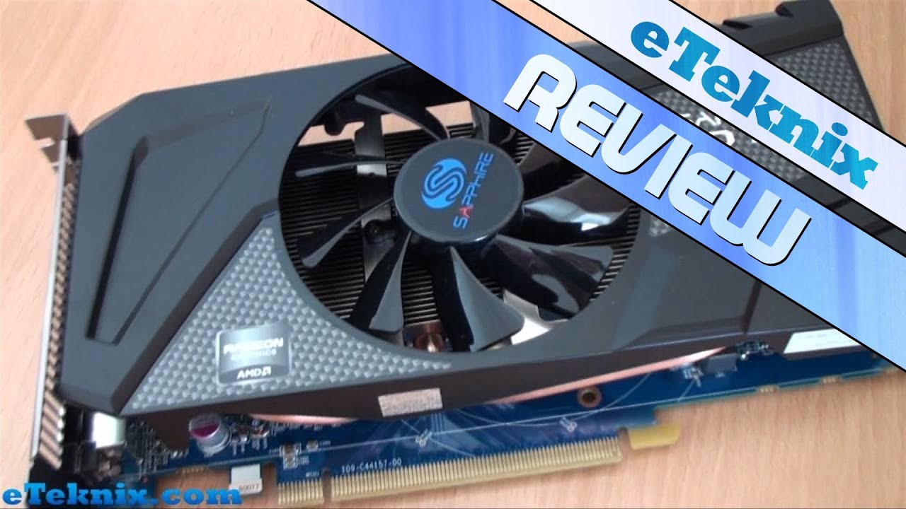 Sapphire Radeon HD 7770 Overclock Edition 1GB Graphics