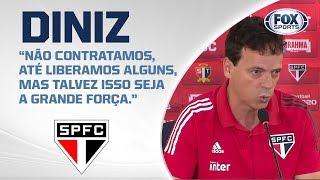 FALA, DINIZ! Veja entrevista coletiva do técnico tricolor após Oeste 0 x 4 São Paulo