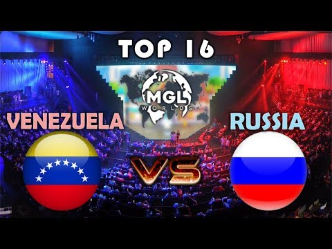 VENEZUELA vs RUSSIA | TOP16 MGL WORLDS | CLASH ROYALE