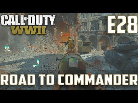 Call Of Duty World War 2(RTC)PS4 Ep.28-Hardpoint On Aachen(STG 44,MP40,Lewis Gun Gameplay)