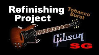 Gibson SG refinishing project