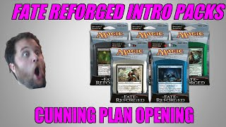 Mtg Fate Reforged Intro Pack Cunning Plan Opening