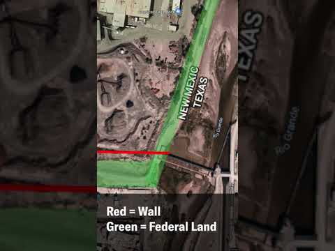 """ACLU Blocked From Accessing Monument One Via a Federal Road by Members of """"We Build the Wall"""""""